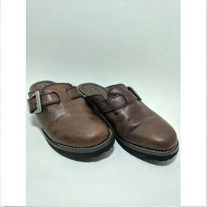 Earth Shoe Leather Pine Women's Comfort clogs
